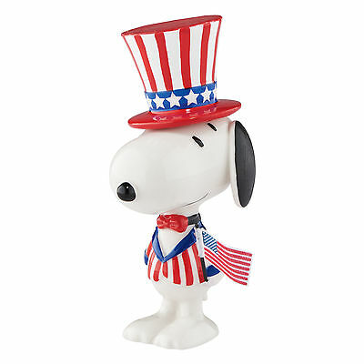 Snoopy by Design Star Spangled Snoopy Peanuts Figure