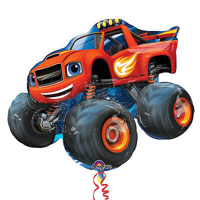 """Blaze and the Monster Machines 34"""" SuperShape Foil Balloon by AMSCAN"""