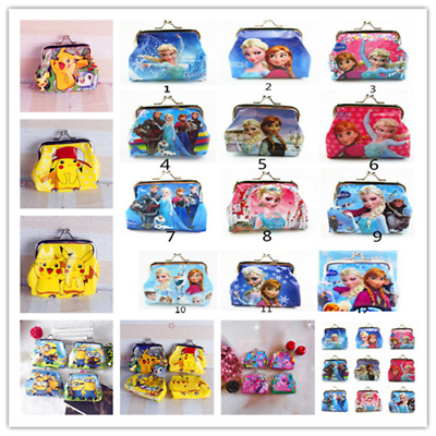 Children Coin Purse Wallet Hasp package Party Favors Kids Money Bag Xmas Gifts