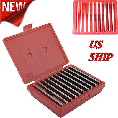 """Thin Parallel Set 1/8"""" 10 Pair 0.0002"""" Steel 1/2 To 1-5/8 Thick SE"""