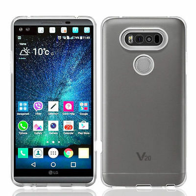 2017 New Ultra Slim Thin Clear Soft Silicone Gel TPU Case Cover Skin For LG V20