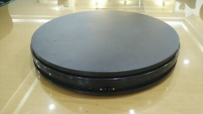 250X60MM Electric Turntable Rotary Display Stand 360 Swiveling Plateform