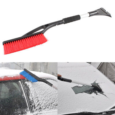 Winter Retractable Car Vehicle Snow Scraper Shovel Ice Remover Brush Squeegee