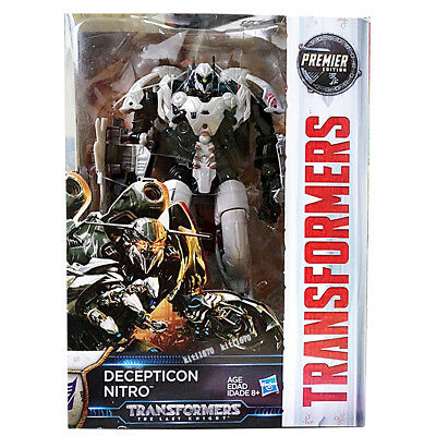 Transformers Hasbro Last Knight Premier Edition Voyager Decepticon Nitro NEW