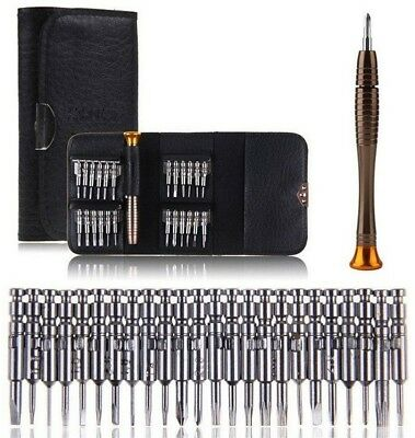 25 In 1 Multi-purpose Portable Precision Screwdriver Wallet Set Repair Tools