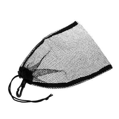 "Mesh Drawstring Bag for Diving Gear Fins Mask Swim Scuba Snorkeling 9""x6.5"""