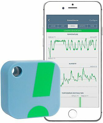 SensorPush Wireless Thermometer/Hygrometer for iPhone/Android (Humidity & Temp)