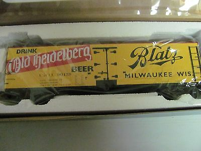 S-Helper Blatz Beer Reefer S Scale # 01770  Car # 90160 MIB