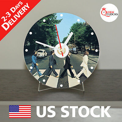 BEATLES AbbeyRoad Watch CD Clock Home Party Wall Art Handmade Unique USA