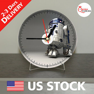 NEW Star Wars R2D2 CD Clock - The Best Gift for a Star Wars Fan