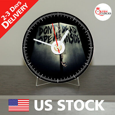 The Walking Dead Gift CD Clock - The Best Gift for a Fan - Ships from USA