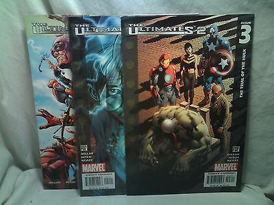 The Ultimates 2 Marvel Comics issues 1 2 3