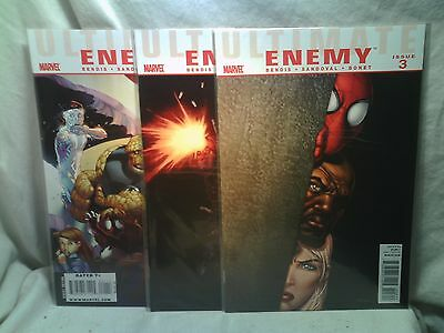 Ultimate Enemy Marvel Comics issues 1 2 3 4