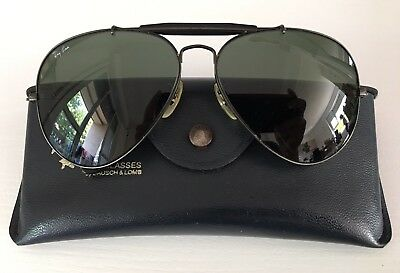 Ray Ban Outdoorsman Black 62-14 Bausch & Lomb