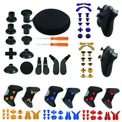 Buttons Repair Parts Full Set Trigger for Xbox One Elite Controller w/Tool Kit