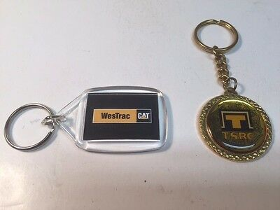 Caterpillar Collectible Tractors Singapore & Westrac Key Chains - Very Unique