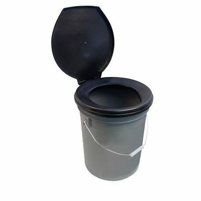 Leisurewize Need A Loo Camping Toilet Bucket With Seat & Lid LWACC31