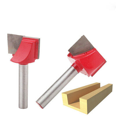 22mm Surface Planing Bottom Cleaning Wood Milling CNC Router Cutting Mill Bit