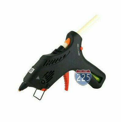 Cordless Butane Gas Glue Gun with Automatic Temperature Control & 2 Glue Sticks