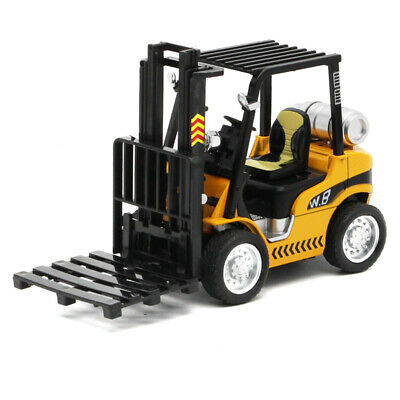 1:24 Forklift Truck Fork Truck Construction Toy Vehicle Diecast Model Car Gift
