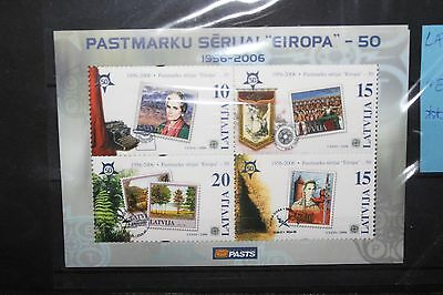 "Latvija 2006 ""europa"" Mnh** Block (Cat.j)"