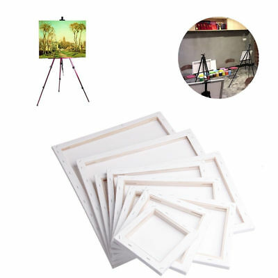 GOD White Blank Square Artist Canvas Wooden Board Frame Primed Oil Acrylic Paint