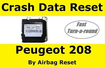 Airbag Module Crash Data Reset Service For Peugeot 208 Airbag ecu's
