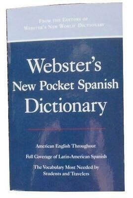 Webster's New Pocket Spanish/English Dictionary 2004