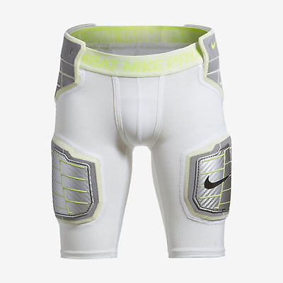 Nike Pro Combat Hyperstrong NEW Boys M L Compression Hardplate Football Shorts