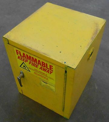 Eagle Saefty Storage Cabinet Model 1904, 4 Gall Capacity, Meets Osha Requirement