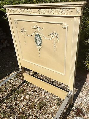 Antique Edwardian Shabby Chic Single Bed