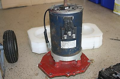 Curtis AC-50 96Volt Electric motor and Controller (used)