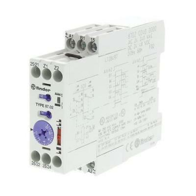 1 x Finder Multi Function Time Delay Relay, 0.05-10 min, 0.05-10 s, 0.05-60h