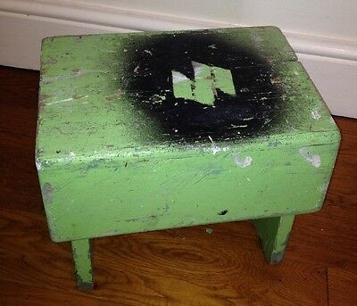Vintage Wooden Bench Stool / Foot Stool / Step / Shabby chic / Rustic Farmhouse
