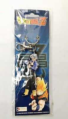 **License** Dragon Ball Z DBZ PVC Keychain FUTURE TRUNKS Dragonball ***NEW***