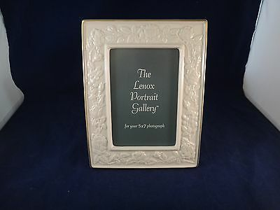 Lenox IVORY ROSE 5 x 7 Picture Frame ~NEW~