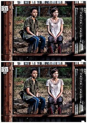 2x ALEXANDRIA BLACK SASHA & MAGGIE The Walking Dead Card Trader Digital