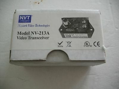 NVT NV-213A Video Transceiver Coax over twisted pair