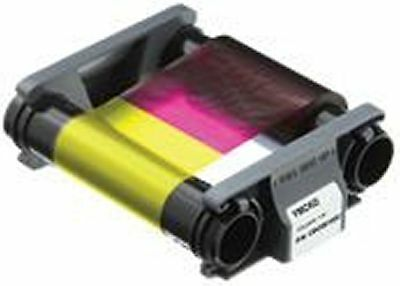 Badgy CBGR0100C 1 YMCKO Color Ribbon - For 100 Prints