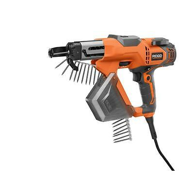 RIDGID 3 in. Drywall and Deck Collated Screwdriver Corded Screw Electric Tool