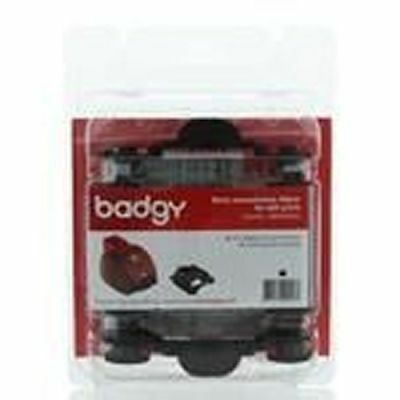 Badgy BDG206EU Black Monochrome Ribbon 600 Printers - To Suit Badgy-Basic Only