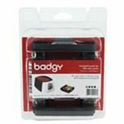 Badgy CBGP0001C Card and Ribbon kit for100 prints Badgy100 & Badgy200