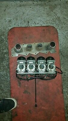 Kawasaki zx9 carbs with zetec unfinished manifold