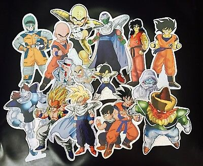 Dragon Ball Z DBZ Foil Holo Sticker Set UR *RARE* VINTAGE dragonball AUTHENTIC