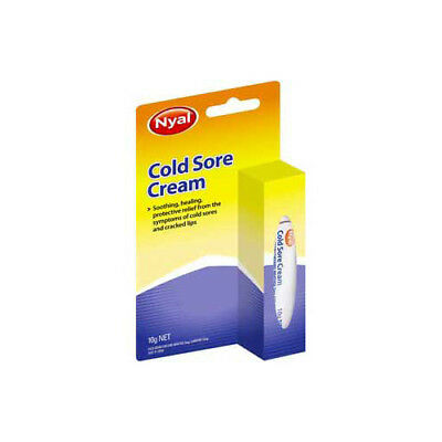 NEW Nyal Cold Sore Cream 10g Cold Sores Medicine