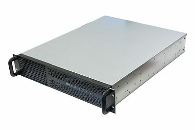 Norco RPC-250 2U Rackmount Server Chassis NO PSU 6x 3.5 Drives + 2x 5.25 Drives