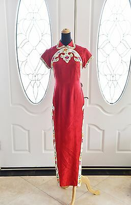 Vintage Pattern Chinese Dress (QiPao)