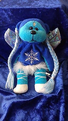 Beanie Baby/Bear/Kid - Blizzard the Ice Fairy - 2002 - Rare - Retired