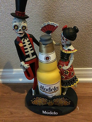 """Modelo Especial Day of the Dead Skeleton Bobble Head 12"""" New Free Shipping"""