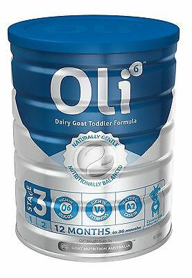 Oli 6 Baby Formula Goat Milk 800g Stage 3 NEW Aus stock